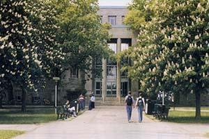 Image of Burke Science Building Entrance